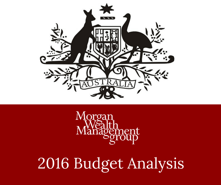 Morgan Wealth Budget 2016 Analysis Superannuation